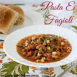 30 minute pasta and kidney bean soup pasta e fagioli recipes pasta e ...