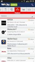 Screenshot of Wallet Buzz