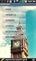 Screenshot of World Travel