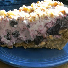 Blueberry Walnut Pie