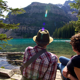 by Matt Bryant - People Couples ( honeymoon, lake louise, jasper, banff, yoho,  )