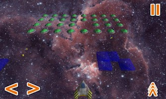 Screenshot of Galaxy Invaders 3D game