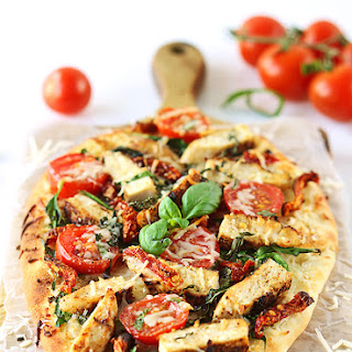 Chicken Florentine Flatbread
