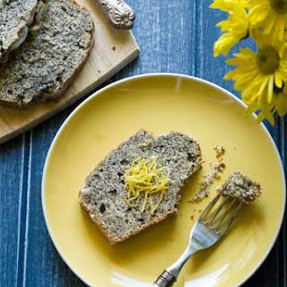 Gluten Free Lemon Poppy Seed Quick Bread