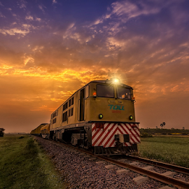 The Heavens by Liquid Lens - Transportation Trains