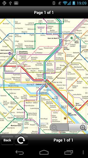 Paris Transport Map - Free