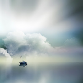 silent color version by Robby Montolalu - Digital Art Places ( indonesia, north sulawesi, landscapes, tahuna )