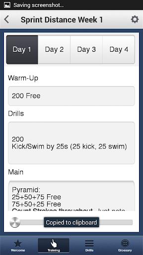 Tri Swim Coach - screenshot