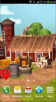 Screenshot of Cartoon Farm 3D Live Wallpaper