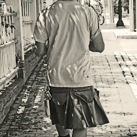 Urban Kilt by Jeannine Jones - People Street & Candids ( Urban, City, Lifestyle )
