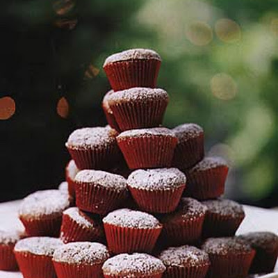 Mini Brownie Cupcakes