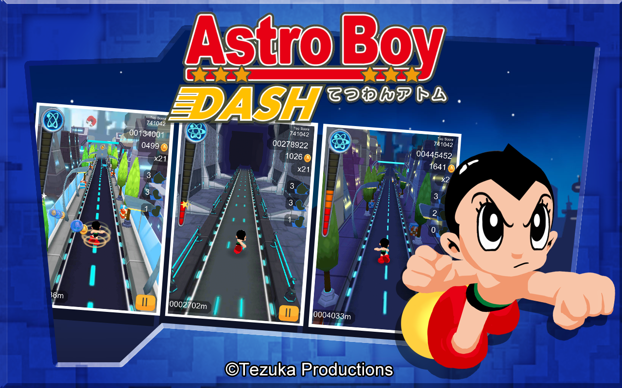 Astro Boy Dash Screenshot 6