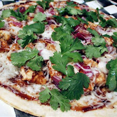 BBQ Chicken Pizza - California Pizza Kitchen Style Made Over!