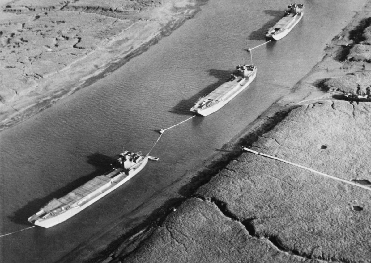 Dummy landing craft