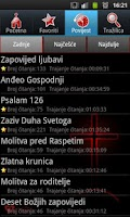 Screenshot of Katolički molitvenik