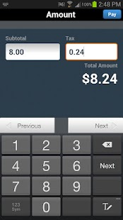e-Mobile POS - screenshot