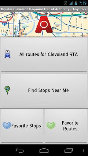 Cleveland RTA: AnyStop