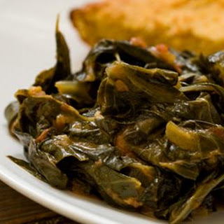 Collard greens, Facebook and Twitter