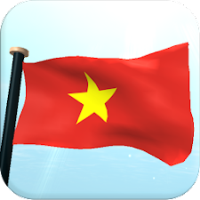 Vietnam Flag 3D Live Wallpaper