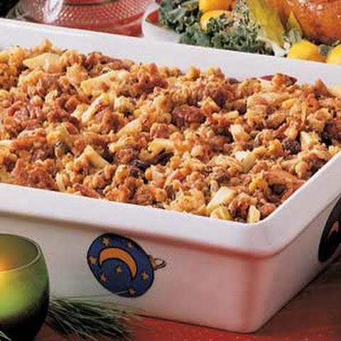 Stuffing With Apples Raisins Recipes | Yummly