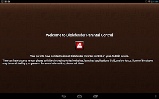 Screenshot of Bitdefender Parental Control
