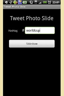 Tweet Photo Slide - screenshot