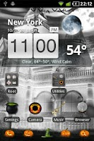 Screenshot of Halloween GO Launcher EX Theme