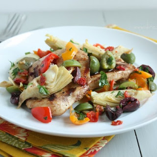 Balsamic Grilled Chicken with Mediterranean Salsa