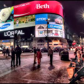 by Petar Tudja - City,  Street & Park  Street Scenes