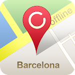 Barcelona Offline City Map APK Image