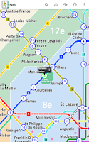 Screenshot of Paris Metro Free by Zuti