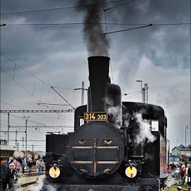 by Ivan Rusek - Transportation Trains