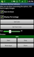 Screenshot of ★Awesome Battery Indicator★