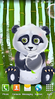 Screenshot of Sleepy Panda Live Wallpaper