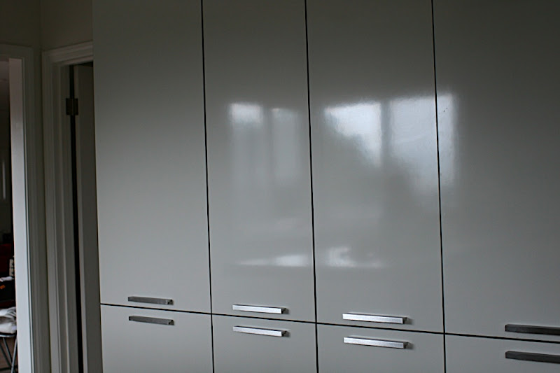 you can have also White laminate doors glossy or matte then the most elegant are the door in MDF paint glossy or matte usually matte. & Contemporary (Italian style) white litchen cabinet doors!