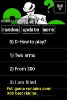 Screenshot of Riddles: party game