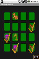 Screenshot of Monster Match