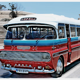 Malta Bus by Mario Borg - Transportation Automobiles ( opel, bus, malta,  )