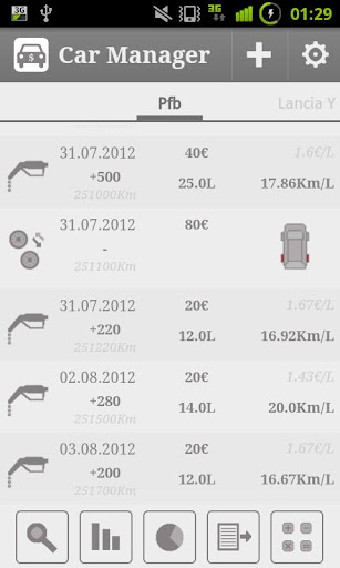 Car Fuel Manager - Free