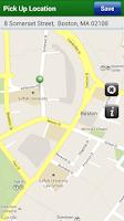 Screenshot of Boston Metro Cab