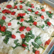 Shrimp and Cream Cheese Enchiladas