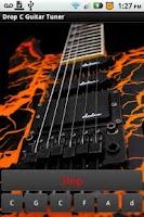 Screenshot of Drop C Guitar Tuner
