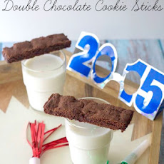 Double Chocolate Cookie Sticks (#StreamTeam)