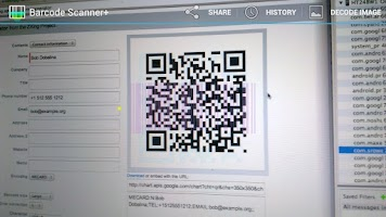 Screenshot of Barcode Scanner+ (Plus)