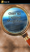 Screenshot of Over40 Magnifier & Flashlight