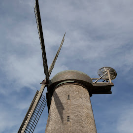 Windmill Golden Gate Park San Francisco by Janet Marsh - City,  Street & Park  City Parks ( san francisco, windmill,  )