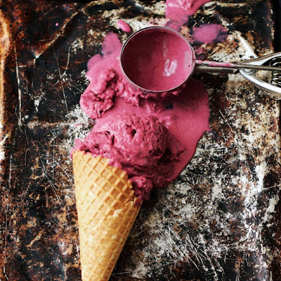 Wild Blackberry Ice Cream