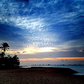 Sunrise blue hour by Janette Ho - Instagram & Mobile iPhone