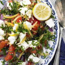 Preserved Lemon & Tomato Salad With Feta