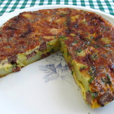 Spanish Omelette With Meat